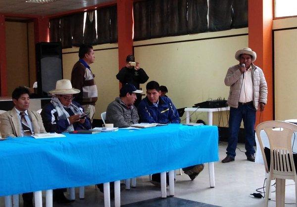 Las Bambas: Comuneros exigen solucionar conflicto a presidente Vizcarra