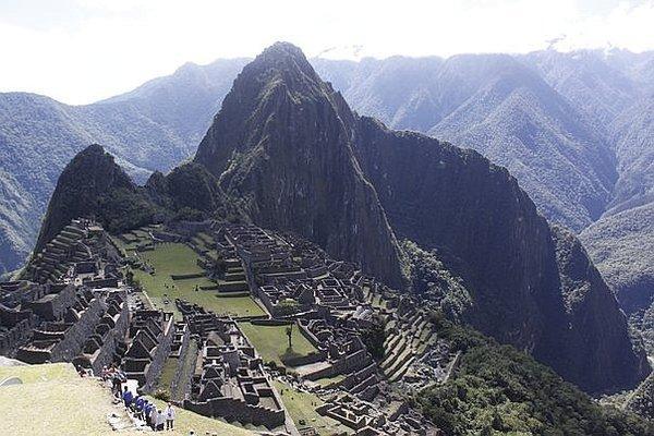 Paredes de Machu Picchu se oscurecen por cambio climático
