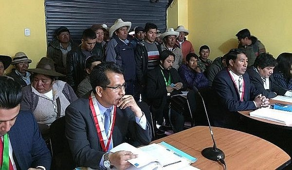 Las Bambas: Por ausencia del fiscal suspenden inicio de juicio oral contra 19 comuneros
