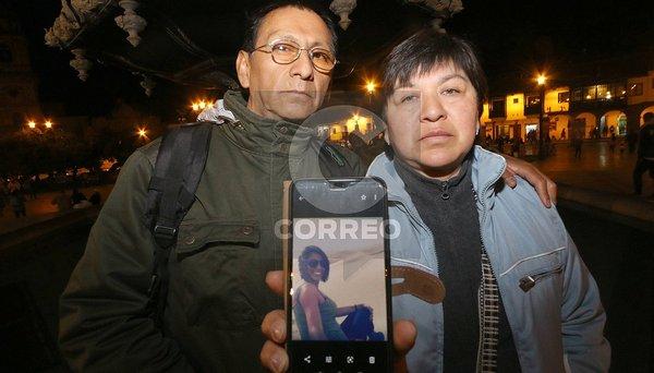 Hoy reinician búsqueda de la turista Nathaly Salazar en Cusco (FOTOS)