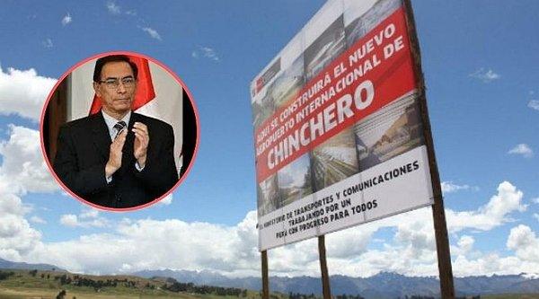 Martín Vizcarra defiende las propuestas para futuro aeropuerto de Chinchero