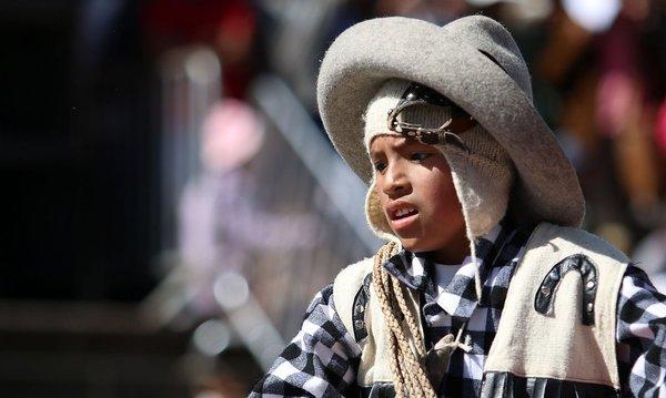 Fiestas del Cusco: Los más pequeños de casa saludan a la Ciudad Imperial (FOTOS)