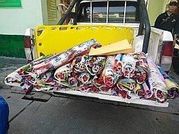 Hallan 17 kilos de droga escondidos entre artesanías en Cusco (FOTOS)