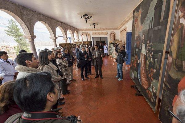 Más de 100 obras de arte fueron restauradas en Cusco (FOTOS)
