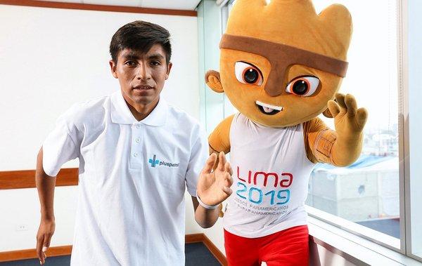 Yuri Labra, de las alturas de Cusco a llevar la antorcha de los Panamericanos Lima 2019