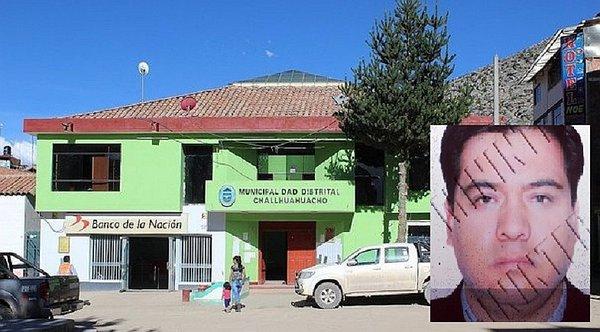 Capturan a exgerente de Municipalidad de Challhuahuacho Néstor Enríquez