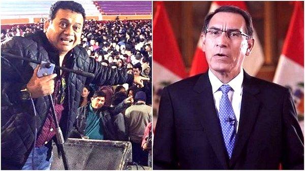 Tony Rosado lo hizo de nuevo: Esta vez insulta al presidente Vizcarra (VIDEO)