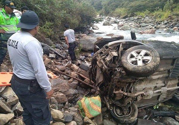 Al menos tres fallecidos tras accidente de tránsito en Cusco (FOTOS)