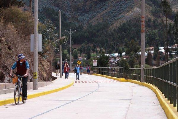 Comunidades de Cusco ya cuentan con pista en la Quebrada de Quesermayo