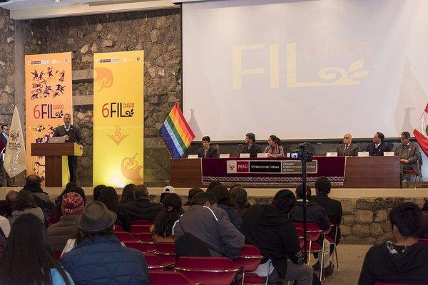 Ministro de Cultura clausura la VI Feria Internacional del Libro - FIL Cusco