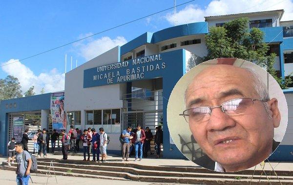Fiscalía solicitó 18 meses de prisión preventiva para rector de la Unamba