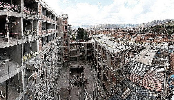 Hotel Sheraton de Cusco será demolido por completo (FOTOS)