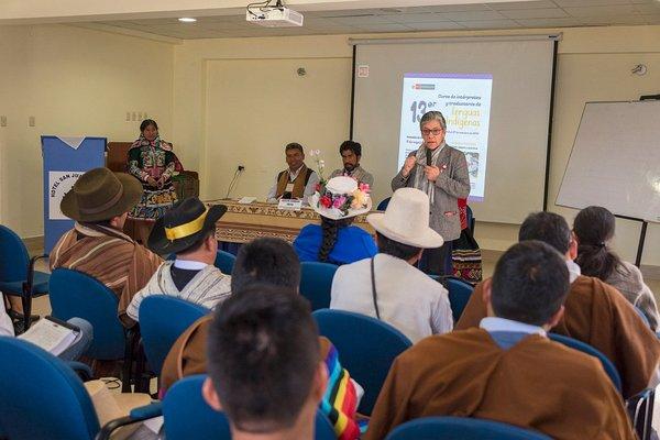 Inicia XIII Curso de Intérpretes y Traductores de Lenguas Indígenas en Cusco