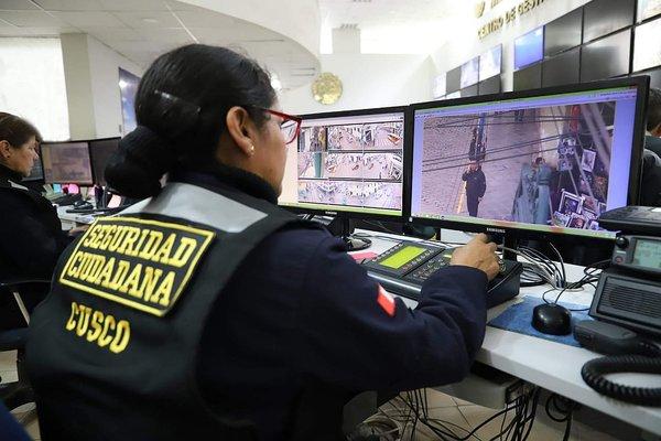 Instalan nuevas cámaras para reconocimiento facial en Cusco