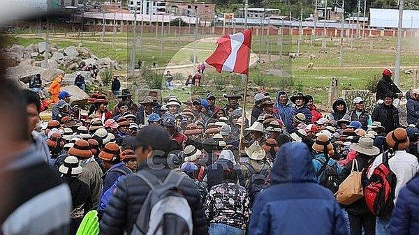 Las Bambas: Comuneros vuelven a bloquear el Corredor Minero del Sur