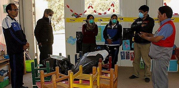 Suspenden labores escolares en Abancay debido a polvareda